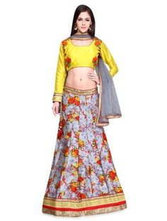 Check out what I found on the LimeRoad Shopping App! You'll love the Grey semi stitched net lehenga set. See it here http://www.limeroad.com/products/9581145?utm_source=3a6cf9723c&utm_medium=android
