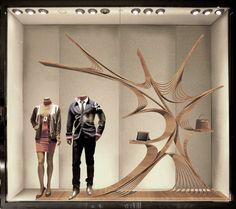 Hermes China Window Display design(proposal) by james chang, via Behance