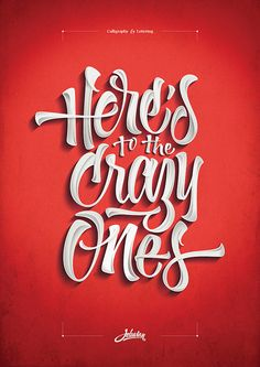 40 Remarkable Examples Of Typography Design #10
