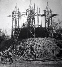 Sprookjesbos in aanbouw.