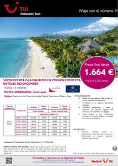 Oferta Isla Mauricio estancia hotel Dinarobin. Precio final desde 1.664€ - http://zocotours.com/oferta-isla-mauricio-estancia-hotel-dinarobin-precio-final-desde-1-664e-4/