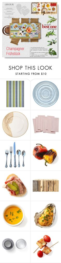 """BREAKFAST for  All!"" by lacas ❤ liked on Polyvore featuring interior, interiors, interior design, home, home decor, interior decorating, Thos. Baker, iittala, Kelly Wearstler and CB2"