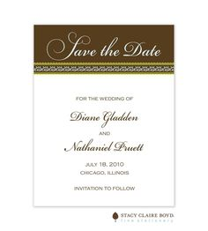 Always and Forever Save The Date