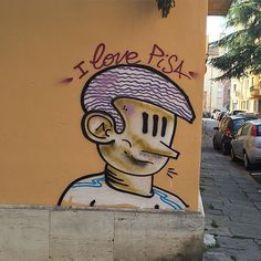 Angoli di città che diventano spazi dedicati alla fantasia e alla Street Art.  Bravissimo @gabrielebonadio abbiamo scelto la tua foto come BEST OF THE DAY of #igerspisa!  Corri subito a condividere e taggare la tua foto dal nostro profilo Instagram o sulla nostra pagina Facebook!  #botdpisa by igerspisa