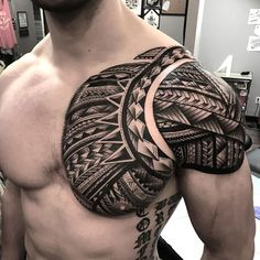 Tribal Tattoos For Men: With Meanings & Healty Tips