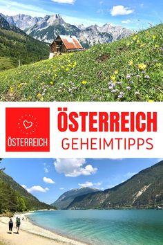 #geheimtipps #österreich - Echte Reiseblogger Tipps aus Österreich für schöne Tage im ÖSTERREICH URLAUB ⭐ Seen, Berge, Landschaften & Sehenswürdigkeiten ✔️ #sommer #wandern Seen, Ski Resorts, Winter Vacations