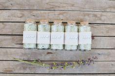 DIY Herbed Salt Favors from Alisa Lewis Event Design