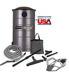 VacuMaid GV50 Wall Mounted Garage and Car Vacuum.  #shopvac #vacuumcleaner