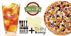 FREE Lipton Tea at Stevi B's on http://www.icravefreebies.com/