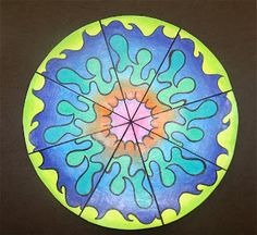 Math Art- rotational symmetry