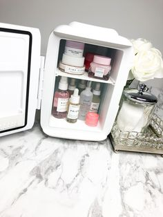 Meet the newest addition to the beauty society. The Cosmo Cosmetics Fridge is the perfect way to store your favourite cosmetics products. It is specially designed with your beauty needs in mind. Beauty Care, Beauty Skin, Beauty Society, Cosmo, Aesthetic Room Decor, Face Skin Care, Aesthetic Makeup, Beauty Room, Skin Tips