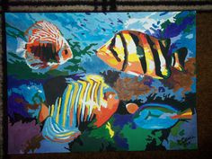 FOR THE FRONT BATHROOM WALLS? ART