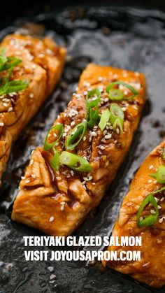 Baked Salmon Recipes, Seafood Recipes, Cooking Recipes, Healthy Recipes, Best Salmon Recipe, Delicious Salmon Recipes, Seafood Meals, Healthy Lunches, Sausage Recipes