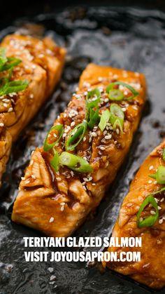Baked Salmon Recipes, Fish Recipes, Seafood Recipes, Cooking Recipes, Healthy Recipes, Salmon Recepies, Best Salmon Recipe, Seafood Meals, Healthy Lunches