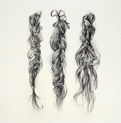 Bee-hives and beardies - do a fun unit focusing on drawing hair with fineliners - artist focus - Deborah Klein