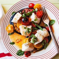 Cod with Eggplant, Tomatoes & Basil and other Italian Christmas recipes