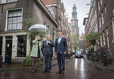 Willem-Alexander bezoekt de Jordaan