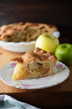Apple Pie with Cheddar Cheese Crust                                                                                                                                                                                 More
