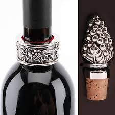 Drip ring & wine stopper set