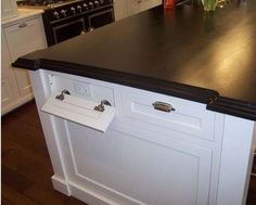 6.) Fake drawers are also a great spot for extra outlets.