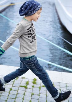 Moda Benetton para niños otoño-invierno