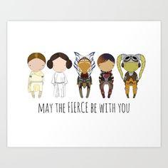 My favorite badass women. <br/> <br/> Leia, Amidala, Hera Syndulla, Sabine Wren, Ahsoka Tano