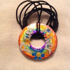 Flower Power Necklace by BeccasjamsandCrafts on Etsy