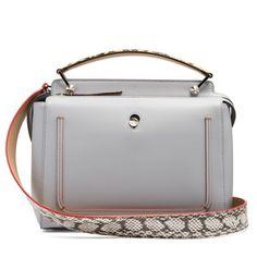 Fendi Dotcom leather bag Design Bleu dc79e2b8f1b6d