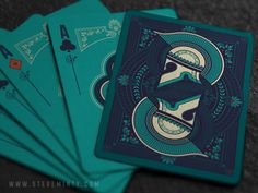 Olympia Playing Cards by Steve Minty — Kickstarter.  FINAL 4 DAYS TO GET THEM HERE!