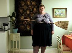 Iiu Susiraja Challenges Typical Femininity in her Self-Portraits #photography trendhunter.com