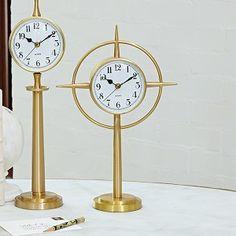 Pointed Star Clock #interiorhomescapes #globalviews #clock #time #accessory #decor #home #interior #luxury #elegant