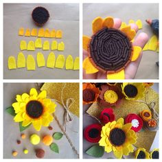Outstanding diy flowers detail are readily available on our internet site. Take a look and you wont be sorry you did. Flower Crafts, Diy Flowers, Fabric Flowers, Paper Flowers, Felt Diy, Felt Crafts, Fabric Crafts, Diy Crafts, Felt Flowers Patterns