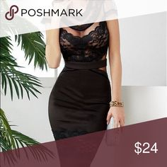 'Perfect Fight' Floral Lace Dress Waistline: Empire   Decoration: Lace  Material: Polyester,Spandex,Lace  Dresses Length: Knee-Length  Sleeve Length: Short  Category: midi dresses Fabric Type: Lace Dresses Midi