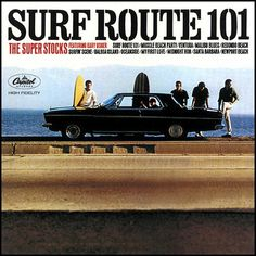 """""""Surf Route 101"""" (1964, Capitol) by The Super Stocks.  Their Second LP.  The Super Stocks were a studio group led by Gary Usher."""
