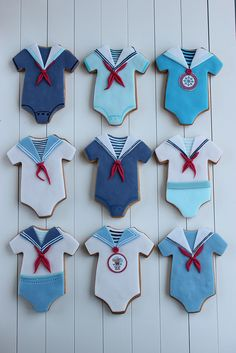 Marine cookies | Happy First Bday, Damian! | Люба Златкова | Flickr