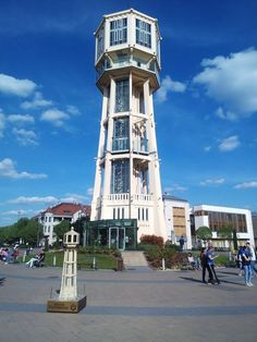 Siofok Water Tower, Places to Visit in Hungary Reinforced Concrete, Interesting Buildings, Resort Spa, Cool Places To Visit, Where To Go, Waterfall, National Parks, Scenery, Towers