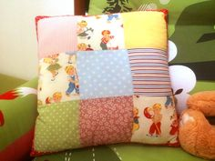 This is the pillow I sew for my kids room! handmade by OfrazArt
