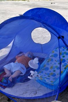 For when you take your baby to the beach or camping. This is perfect.