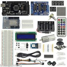 Uksainsmart #mega2560 r3 + joystick + l293d + #small motor #starter kit for ardui,  View more on the LINK: 	http://www.zeppy.io/product/gb/2/301899257664/