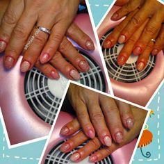 Monofasico fiberglass,colore,gliterato colore,sigilante bsn #nailart #nailsticker #manicure #nailtreatment #nailgel