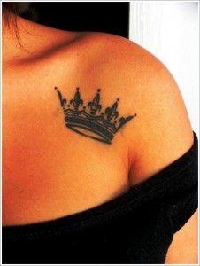 Tattoos-Designs-For-Women-Unique-Crown-Tattoo-Design-For-Women