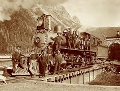 The Canadian Pacific Railway was founded in 1881. These trains were instrumental in the settlement and development of Western Canada. They are still actively running today.