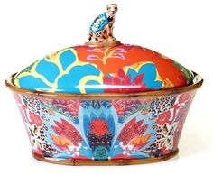 POETIC WANDERLUST Tracy Porter ® For Poetic Wanderlust ® 'Magpie' Covered Serving Bowl