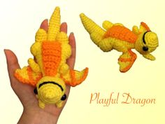 Playful Dragon - Choose Your Own Colours! via amazeinghats. Click on the image to see more!