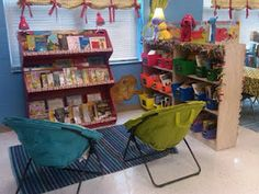 Tons of classroom decorations and set-ups