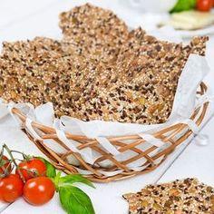 Urgott fröknäcke fullspäckat med fyra sorters olika frön. Foto Thomas Hjertén