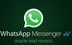 How to disable Whatsapp read receipts feature and regain your privacy. ~ All About Apple