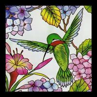 Hummingbird Stained Glass Panel | ... Stained Glass Window Art Panel Peacocks Butterflies Grapes store on Faux Stained Glass, Stained Glass Designs, Stained Glass Projects, Stained Glass Patterns, Stained Glass Windows, Mosaic Glass, Glass Art, Glass Painting Patterns, Mosaic Birds