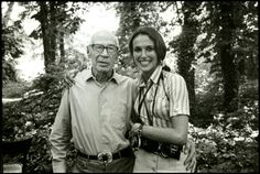 one-photo-day:  Henry Miller and Mary Ellen Mark