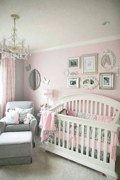 Nursery Ideas For Girls Pink And Grey Outstanding lovely <b>pink grey</b> baby <b>girl</b> bedroom furniture <b></b>